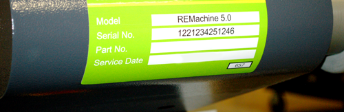 Example Use Of A Printed Polyethylene Label:
